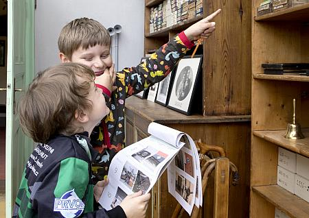 MUZEJNÍ TAJENKA PRO MALÉ I VELKÉ, Hra pro děti - Museum Fotoateliér Seidel