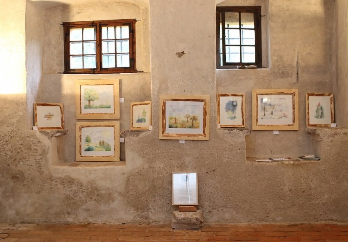 VÍLÍ TAJE, výstava knižních ilustrací Marie Snášelové Štorkové