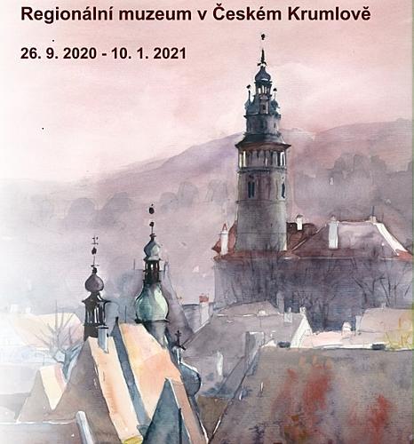 JANA PEŠKOVÁ – AKVARELY, a keramický model města Jany a Petra Peškových v Regionálním muzeu